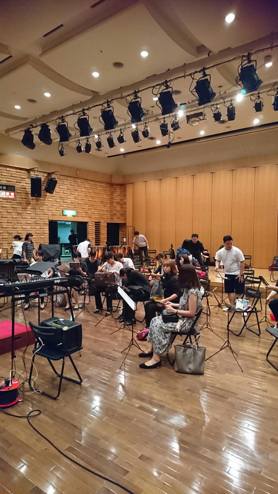 武蔵野スイングホール練習